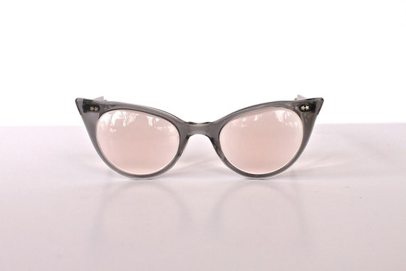 Vintage Star Tipped 1950s Cat Eye Glasses FREE SHIPPING