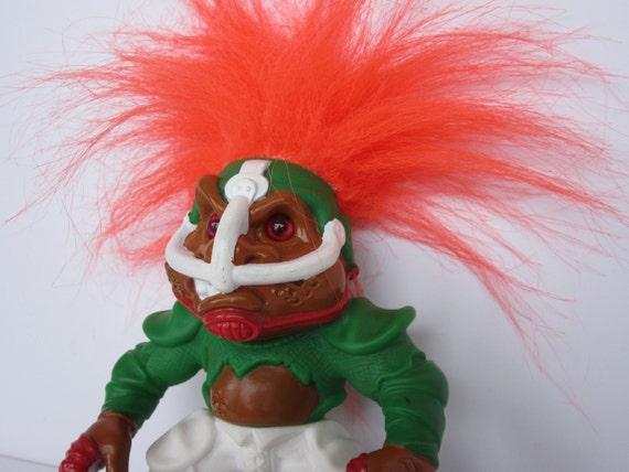 Touch Down Troll 1992 Hasbro Battle Trolls