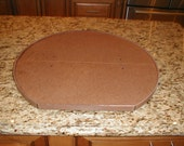 Cabinet Lazy Susan 22 Inch D Shaped Lazy Susan. Installs in Minutes No Tools Required