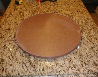 Kitchen Cabinet Lazy Susan 19.5 inches Installs in Minutes No tools Required