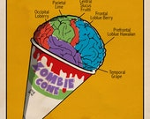 Zombie Cone (Zombies have a sweet tooth too)