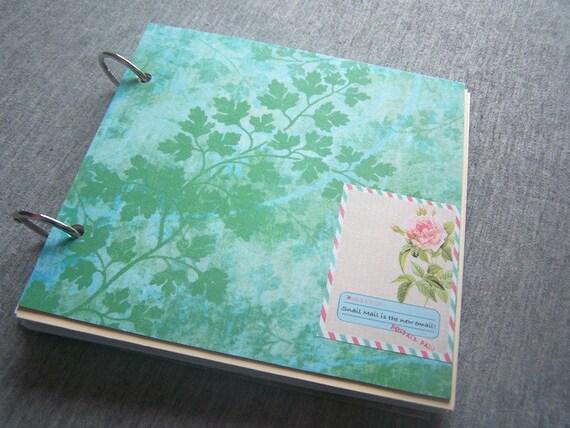 Parsley - Art Messy Journal, Notebook, Sketchbook