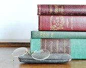 Vintage Literature Collection with A Pair of Antique Eyeglasses