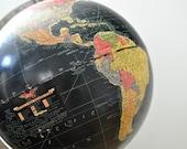 Vintage Replogle 12 Inch Precision Globe Legend Black Oceans