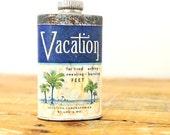 Vintage Vacation Laboratories Foot Powder Tin