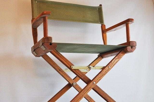 Vintage Directors Chair By Estatehound On Etsy