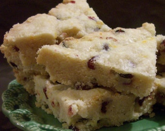 Cranberry Orange Shortbread 8 pieces