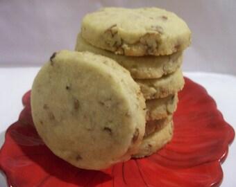 Pecan Shortbread Cookies     1 Dozen