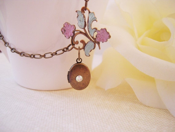 Private Listing For Kim- Princess Locket- OOAK