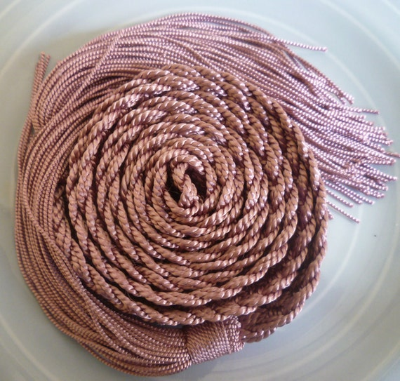 Moroccan Art Silk Belt, dusky pink