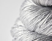 Light steel OOAK - Silk Yarn Lace weight