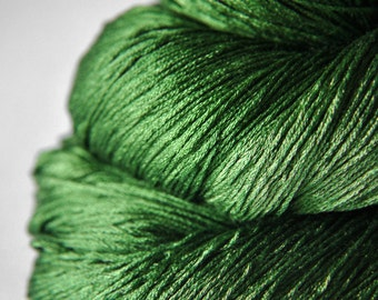 St. Patrick's day parade gone awry - Silk Lace Yarn