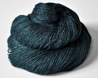 Dead Marshes - Tussah Silk  Lace Yarn