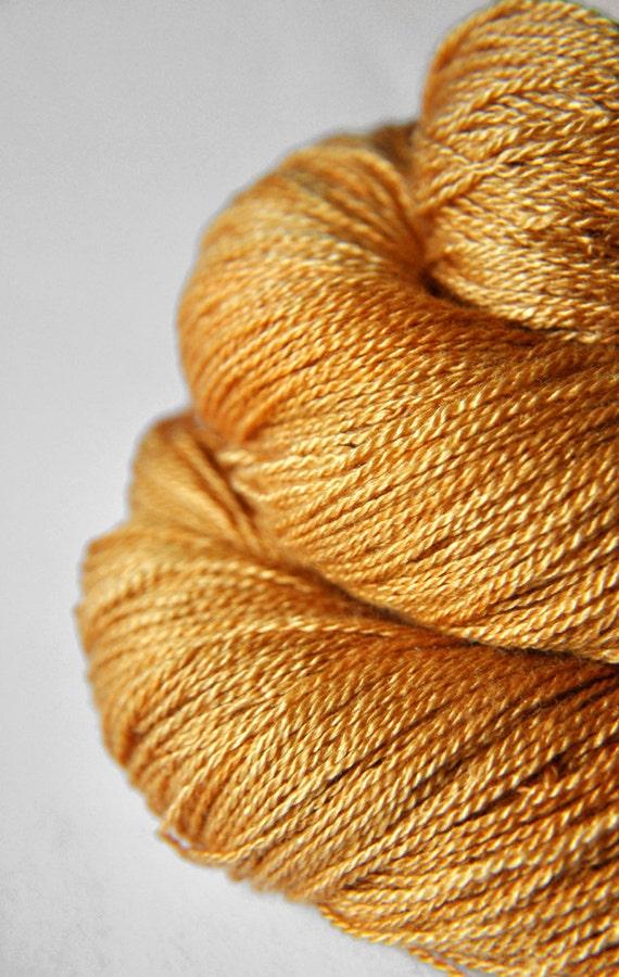 Dead leaves - Silk/Merino Yarn Lace weight