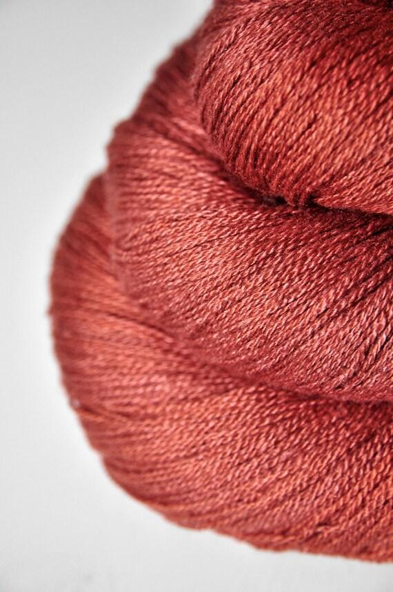 Lost in pain OOAK - Silk/Merino Yarn Lace weight