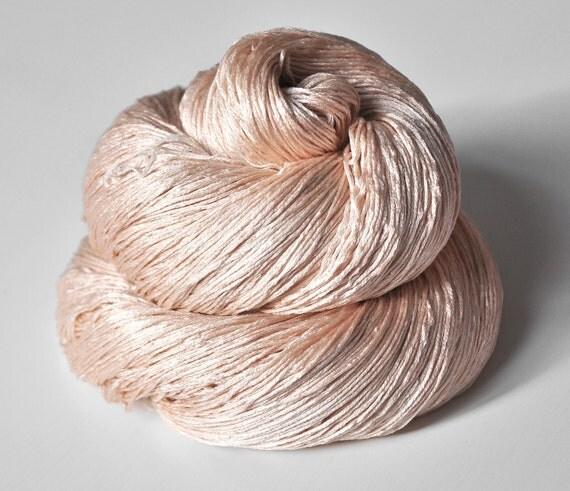 Stupid girl OOAK  - Silk Yarn Lace weight