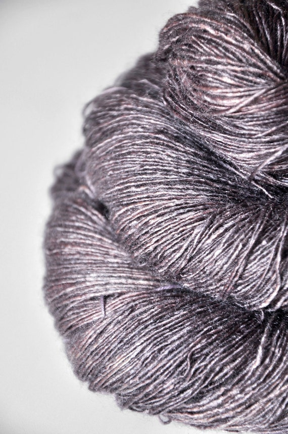 Dyeing Rose - Tussah Silk Yarn Lace weight