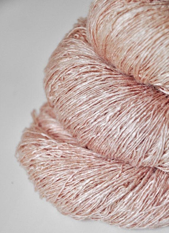 Cellulitis OOAK - Tussah Silk Yarn Lace weight