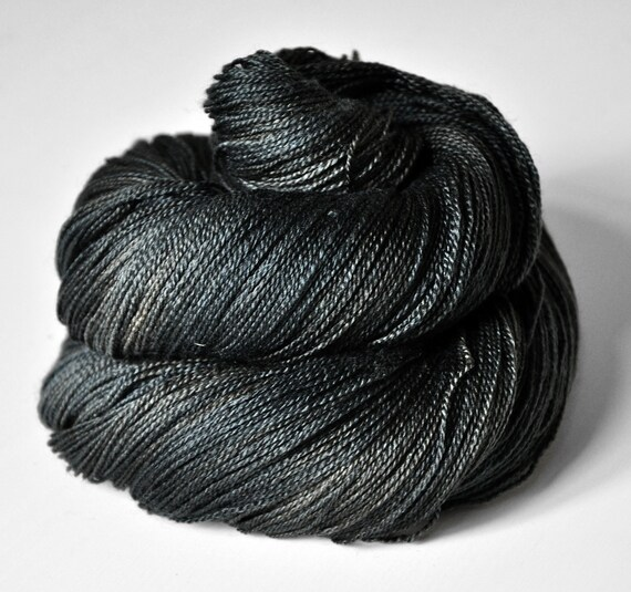 Broken Nori sheets - Silk/Merino Yarn Lace weight