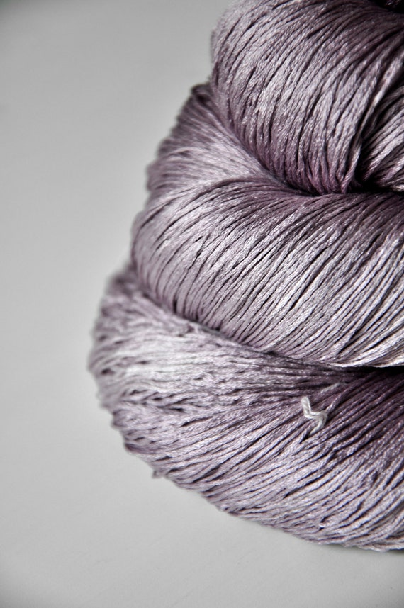 Morrigan OOAK - Silk Yarn Lace weight