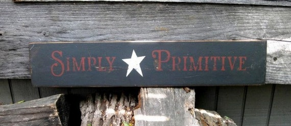 "Primitive Sign - ""Simply Primitive"""