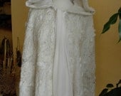 Snow Queen Cape    Reserved for Debbie Patterson