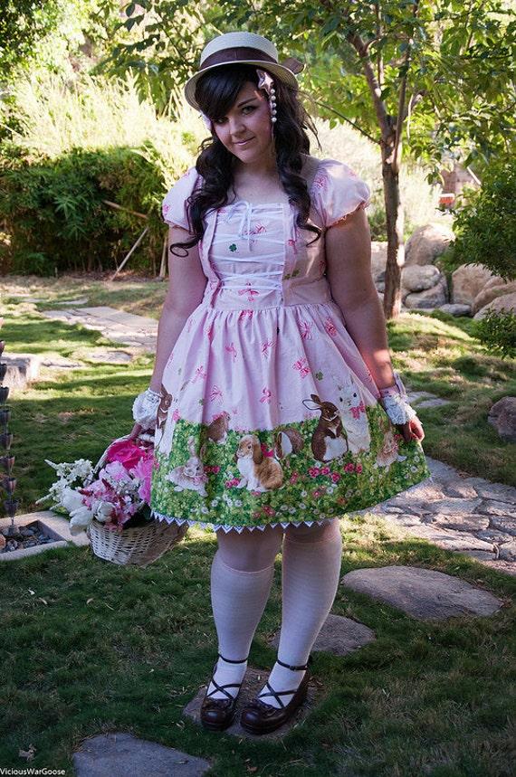 Bunny Garden OP lolita dress size large