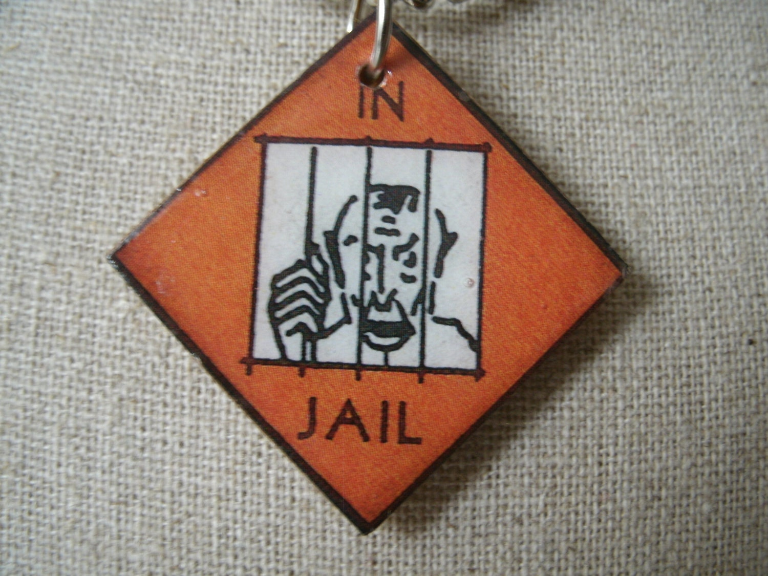 go to Jail Monopoly Board Vintage go to Jail Monopoly