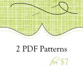Buy 2 PDF Patterns for just 7 Dollars