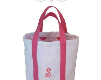 Small Canvas Tote Sewing Pattern