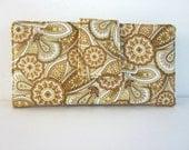 Handmade wallet Golden Garden