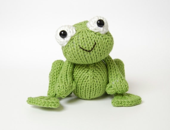 PDF Knitting Pattern for Frog Prince Instant Download