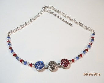 Old Glory Necklace   318