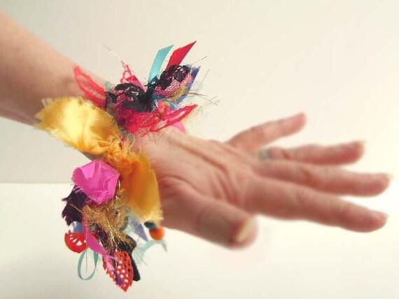RESERVED Colorful BOHO Bracelet Bangle, Multicolored Bracelet, Colorful Bracelet, Colorful Fiber Accessories