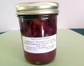 Strawberry \/ Rhubarb  Whole Fruit  Spread