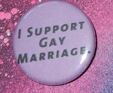 Support gay lesbian marriage