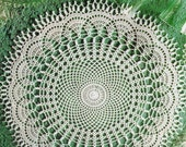 Crocheted Doily - Feelings free shipping