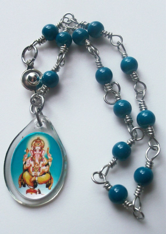 hindu deity ganesha bracelet