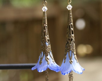 Renaissance Midnight Earrings