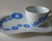 Daisy Snack Plate and Mug