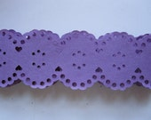 punched paper lace trim