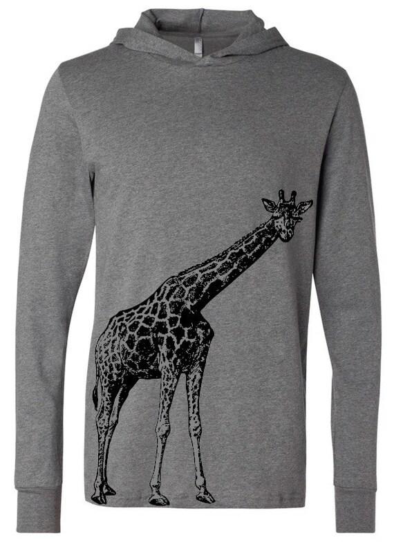 Giraffe Hooded T-Shirt