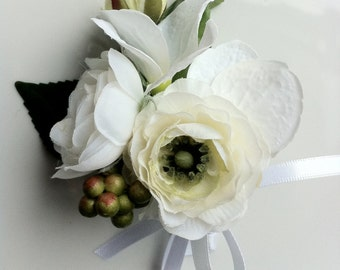 Ranunculus Dress Corsage