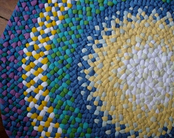 Made To Order Custom Handmade Braided Round Rug in your choice of colors