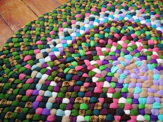 Made To Order-Memory Braided Rug-Your Clothes