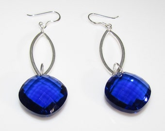 Indigo Dangle Earrings