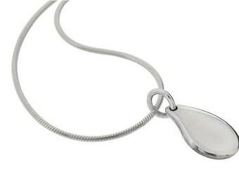 Little Drop Pendant Necklace (Sterling Silver)