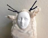 Actaeon // Half Deer Half Man Hybrid Art Doll