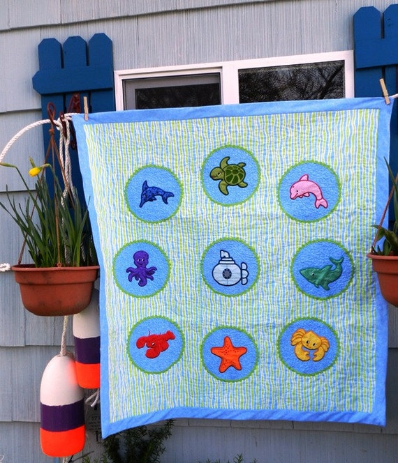 Childs Quilt or Wall Hanging