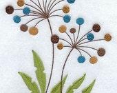 Flour Sack Towel -Sassy Seedling Embroidery Design